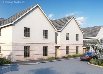 Thumbnail 2 bed flat for sale in The Redwing, Plots 4 & 6, Rowans, Horn Lane, Plymstock, Devon