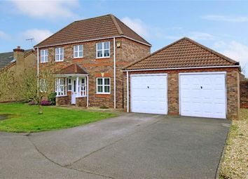 Thumbnail 4 bed detached house for sale in Holmes Way, Wragby