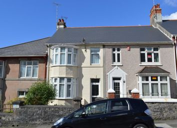 Thumbnail 3 bed terraced house to rent in Dale Gardens, Plymouth