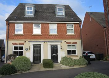 Thumbnail 3 bed semi-detached house for sale in Hillside Gardens, Wittering, Peterborough