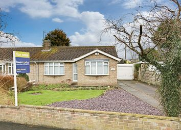 Thumbnail 3 bed semi-detached bungalow for sale in Abbey Road, Ulceby