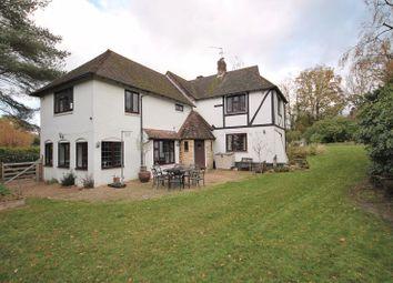 Thumbnail 4 bed detached house for sale in Roundabout Lane, West Chiltington, Pulborough