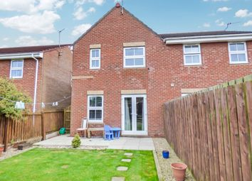 Thumbnail 3 bed semi-detached house for sale in Parkside Gardens, Widdrington, Morpeth