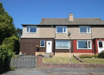 Thumbnail 4 bed semi-detached house for sale in Fairfield Crescent, Oakwood, Hexham