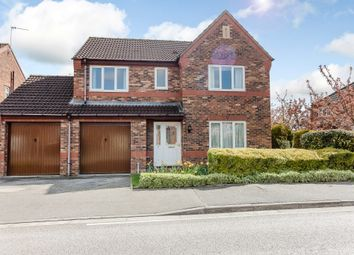 Thumbnail 4 bed detached house for sale in Rivermead, Lincoln