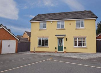 Thumbnail 4 bed detached house for sale in Wheatcroft Close, Redditch