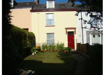 Thumbnail 4 bed terraced house for sale in Clarence Place, Morice Town, Plymouth