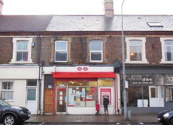 Thumbnail 4 bedroom terraced house for sale in Splott Road, Splott, Cardiff