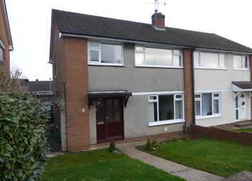 Thumbnail 3 bedroom semi-detached house for sale in Menai Way, Rumney, Cardiff