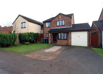 Thumbnail 3 bedroom detached house for sale in Caroline Close, Nuneaton, Warwickshire