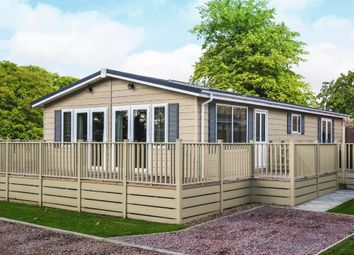 Thumbnail 2 bed mobile/park home for sale in Norfolk Park, Bacton Road, North Walsham