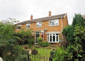 Thumbnail 3 bed semi-detached house for sale in Crow Lane, Husborne Crawley, Bedford