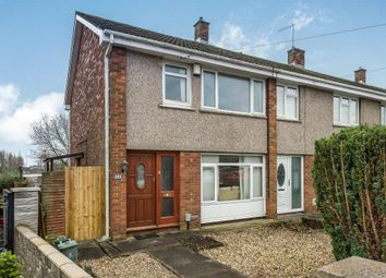 Thumbnail 3 bed end terrace house for sale in Glyncollen Crescent, Ynysforgan, Swansea