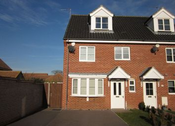 Thumbnail 4 bedroom semi-detached house to rent in Field Grange, Lowestoft