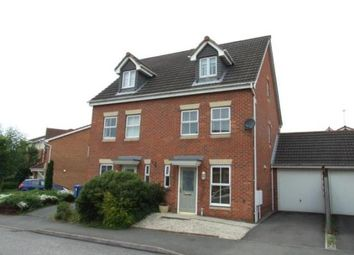 Thumbnail 3 bed semi-detached house to rent in Willowside Green, Spondon, Derby