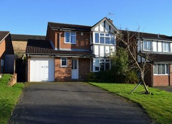 Thumbnail 4 bed detached house for sale in Buckingham Close, East Hunsbury, Northampton