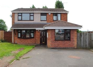 Thumbnail 4 bed property to rent in Walnut Close, Nuneaton