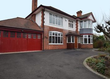 Thumbnail 4 bedroom detached house for sale in Ventnor Road, Leicester