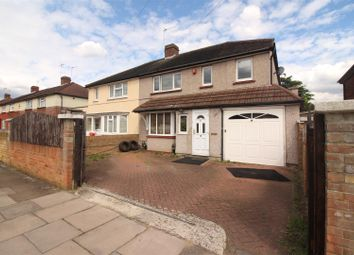Thumbnail 5 bed semi-detached house for sale in Stoneleigh Avenue, Enfield
