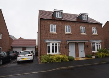 Thumbnail 3 bed semi-detached house for sale in Lace Avenue, Loughborough
