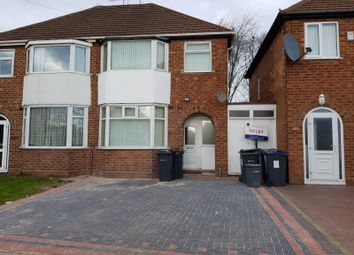 Thumbnail 3 bed semi-detached house to rent in Rocky Lane, Great Barr, Birmingham