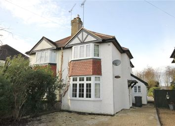 Thumbnail 3 bed semi-detached house for sale in Stroude Road, Virginia Water, Surrey