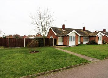 Thumbnail 2 bedroom bungalow for sale in Pinewood Avenue, Lowestoft