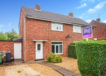Thumbnail 2 bedroom semi-detached house for sale in Torrington Road, Lincoln