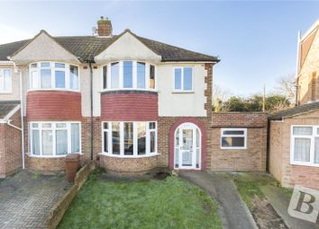 Thumbnail 3 bed semi-detached house for sale in Allington Drive, Rochester, Kent