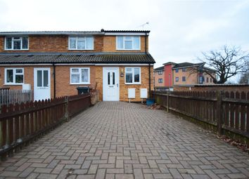 Thumbnail 1 bed end terrace house for sale in Leaves Spring, Stevenage, Hertfordshire