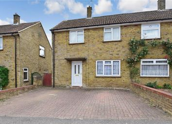 Thumbnail 3 bed semi-detached house for sale in Knight Avenue, Canterbury, Kent