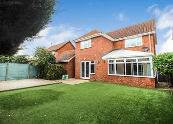 Thumbnail 4 bed detached house for sale in Home Close, Houghton Conquest, Bedford