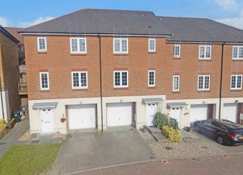 Thumbnail 3 bed town house for sale in Normandy Way, Singleton, Ashford