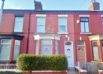 Thumbnail 3 bed terraced house for sale in Kempton Road, Wavertree, Liverpool L15.