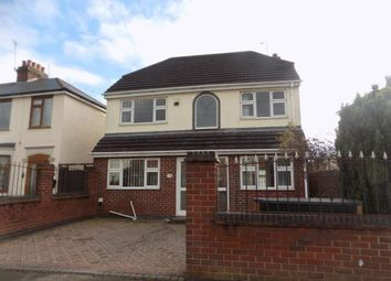Thumbnail 3 bed detached house for sale in Margaret Avenue, Bedworth, Warwickshire, .