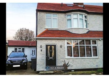 Thumbnail 4 bed semi-detached house to rent in Church Close, Edgware
