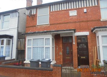 Thumbnail 3 bed terraced house to rent in Eastwood Road, Balsall Heath, Birmingham