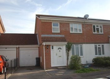 Thumbnail 3 bed semi-detached house to rent in Dandelion Close, Gosport