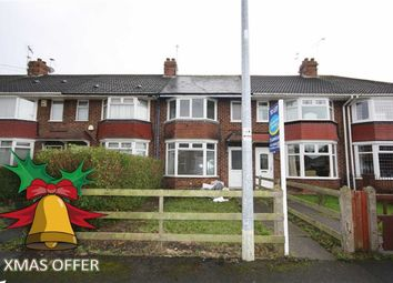 Thumbnail 3 bed terraced house to rent in Woodlands Road, Hull