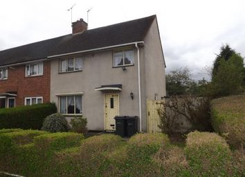 Thumbnail 3 bed end terrace house for sale in Brittan Close, Shard End, Birmingham, West Midlands
