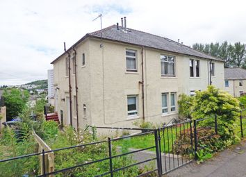 Thumbnail 2 bed flat for sale in Gael Street, Greenock