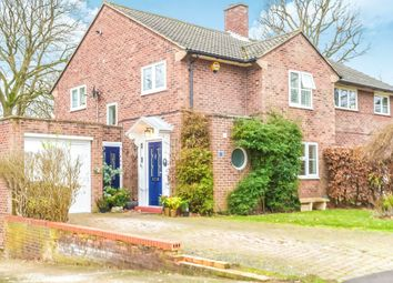 Thumbnail 3 bed semi-detached house for sale in Woodland Rise, Welwyn Garden City