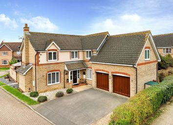 Thumbnail 5 bed detached house for sale in Brantham Close, Caldecotte, Milton Keynes