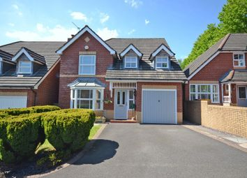 Thumbnail 4 bed detached house for sale in Stunning Family House, Cedar Wood Drive, Newport