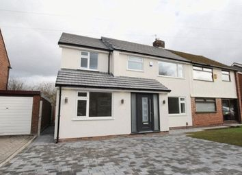 Thumbnail 4 bed semi-detached house for sale in Wallgate Road, Gateacre, Liverpool