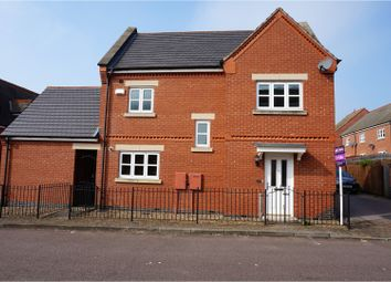 Thumbnail 3 bed detached house for sale in Dale Close, Leicester