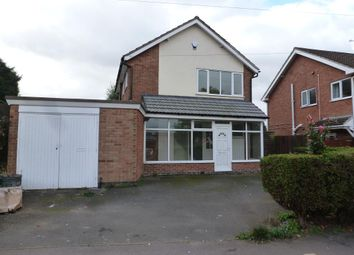 Thumbnail Detached house to rent in Rosemead Drive, Oadby, Leicester