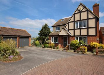 Thumbnail 4 bed detached house for sale in Churchward Close, Grove, Wantage