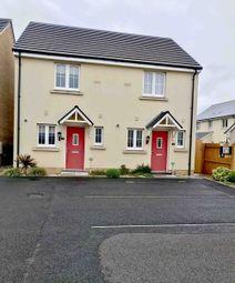 Thumbnail 2 bed semi-detached house to rent in Clos Y Doc, Llanelli, Sir Gaerfyrddin