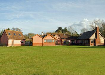 Thumbnail 5 bed property for sale in Flatford Road, East Bergholt, Colchester